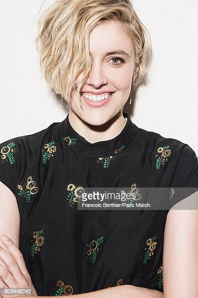 Actor Greta Gerwig is photographed for Paris Match on August 4 2015 in London England