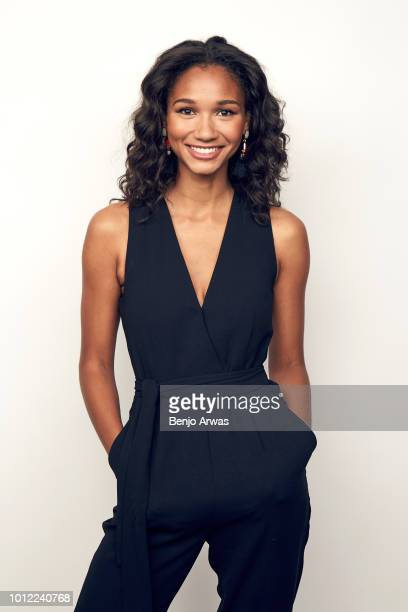 Actor Greta Onieogou of CW's 'All American' poses for a portrait during the 2018 Summer Television Critics Association Press Tour at The Beverly...