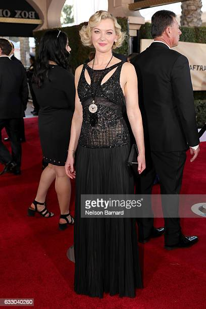 Actor Gretchen Mol attends the 23rd Annual Screen Actors Guild Awards at The Shrine Expo Hall on January 29 2017 in Los Angeles California