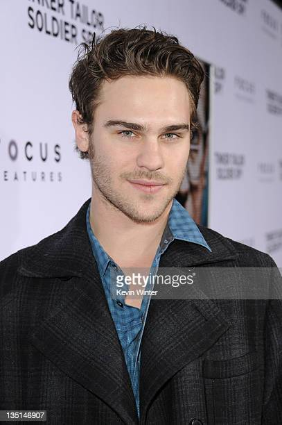 """Actor Grey Damon arrives at the premiere of Focus Features' """"Tinker, Tailor, Soldier, Spy"""" at Arclight Cinema's Cinerama Dome on December 6, 2011 in..."""