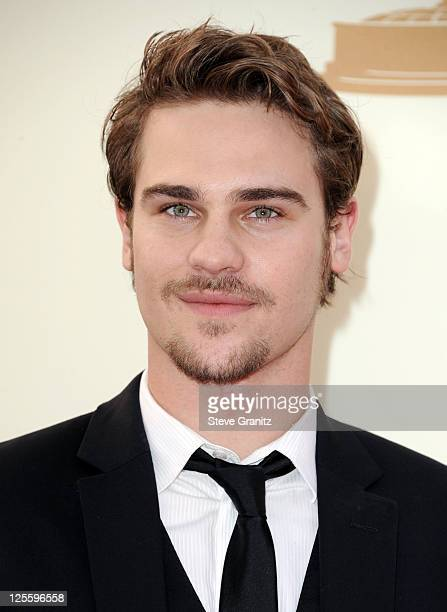 Actor Grey Damon arrives to the 63rd Primetime Emmy Awards at the Nokia Theatre LA Live on September 18 2011 in Los Angeles United States