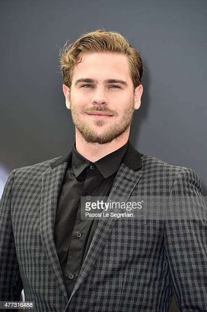 Actor Grey Damon from the TV series 'Aquarius' attends a photocall during the 55th Monte Carlo TV Festival Day 4 on June 16 2015 in MonteCarlo Monaco