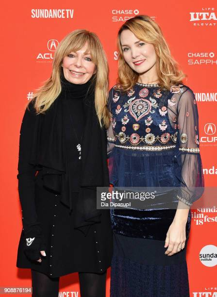 Actor Grif Griffis and director Amy Scott attend the 'Hal' Premiere during the 2018 Sundance Film Festival at The Marc Theatre on January 22 2018 in...