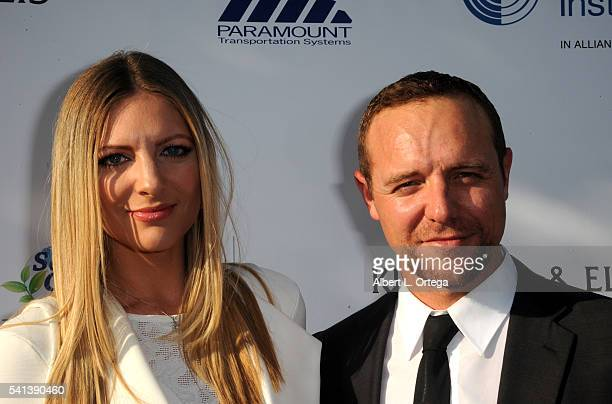 Actor Griff Furst and wife Angela arrive for the 2016 Stand For Kids Annual Gala Benefiting Orthopedic Institute For Children held at Twentieth...