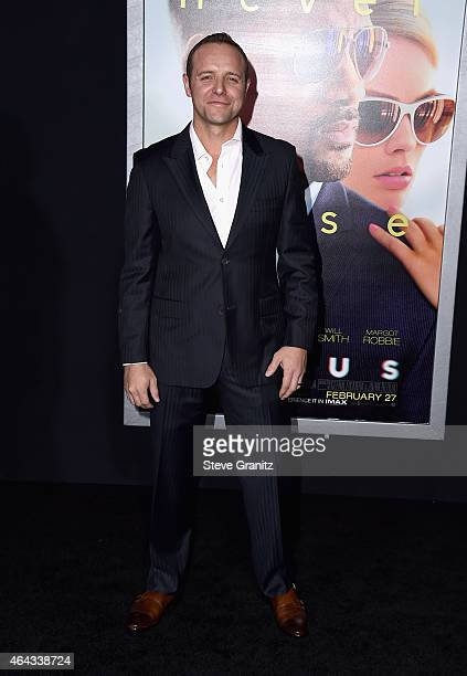 """Actor Griff Furst attends the Warner Bros. Pictures' """"Focus"""" premiere at TCL Chinese Theatre on February 24, 2015 in Hollywood, California."""