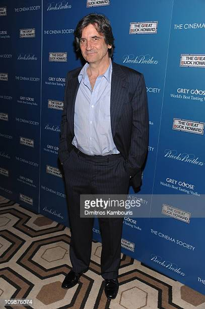 Actor Griffin Dunne attends The Cinema Society and Brooks Brothers screening of The Great Buck Howard at the Tribeca Grand Screening Room on March...