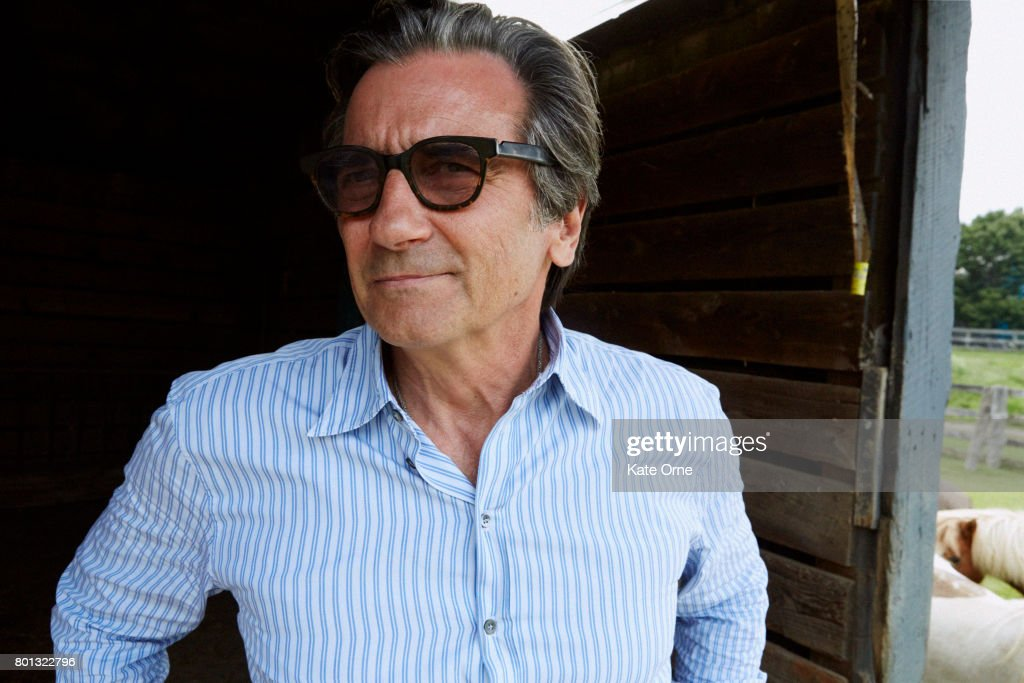 Actor Griffin Dunne is photographed for Upstate Diary on August 18, 2015, at his home in upstate New York.