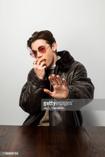 Actor Griffin Gluck from 'Dinner in America' are photographed in the L.A. Times Studio at the Sundance Film Festival on January 24, 2020 in Park...