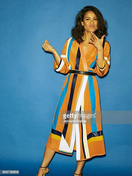 Actor Gugu Mbatha Raw is photographed for Crash magazine on May 12, 2014 in London, England.