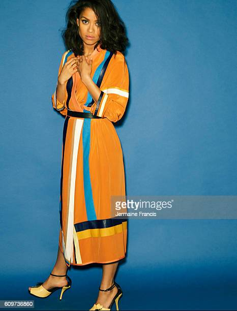 Actor Gugu Mbatha Raw is photographed for Crash magazine on May 12 2014 in London England