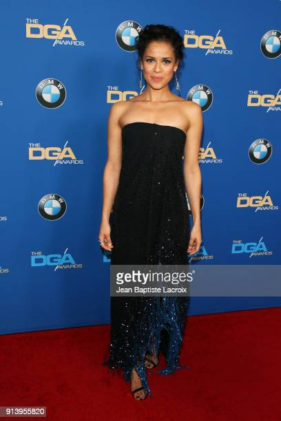 Actor Gugu MbathaRaw attends the 70th Annual Directors Guild Of America Awards at The Beverly Hilton Hotel on February 3 2018 in Beverly Hills...