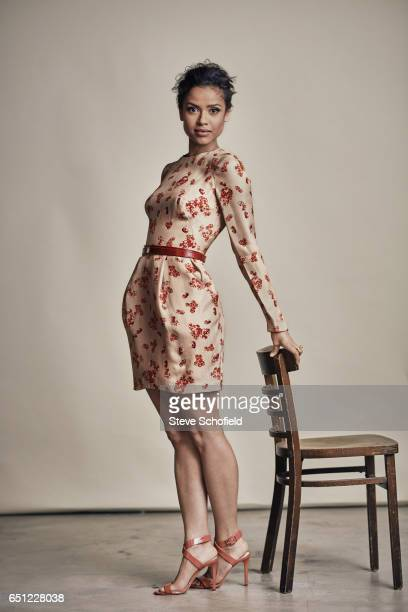 Actor Gugu MbathaRaw is photographed for ES magazine on November 1 2014 in Los Angeles California