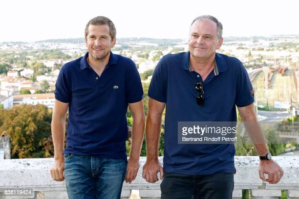Actor Guillaume Canet and director Christian Carion attend the 10th Angouleme FrenchSpeaking Film Festival Day Two on August 23 2017 in Angouleme...