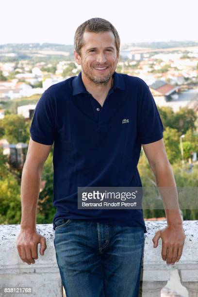 Actor Guillaume Canet attends the 10th Angouleme FrenchSpeaking Film Festival Day Two on August 23 2017 in Angouleme France