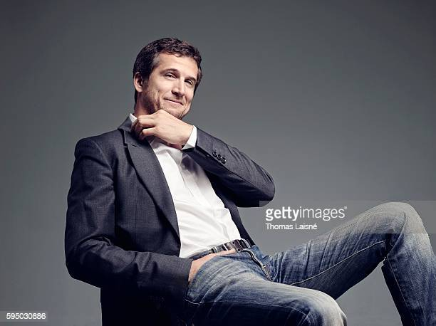 Actor Guillaume Canet is photographed for Self Assignment on August 29 2013 in Paris France