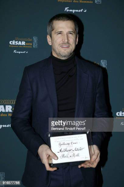 Actor Guillaume Canet Nominated For Best Actor For The Film Rock N Roll