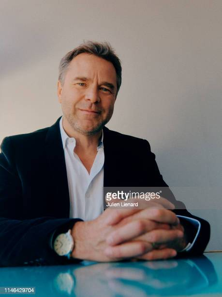 Actor Guillaume de Tonquédec poses for a portrait on May 15 2019 in Cannes France