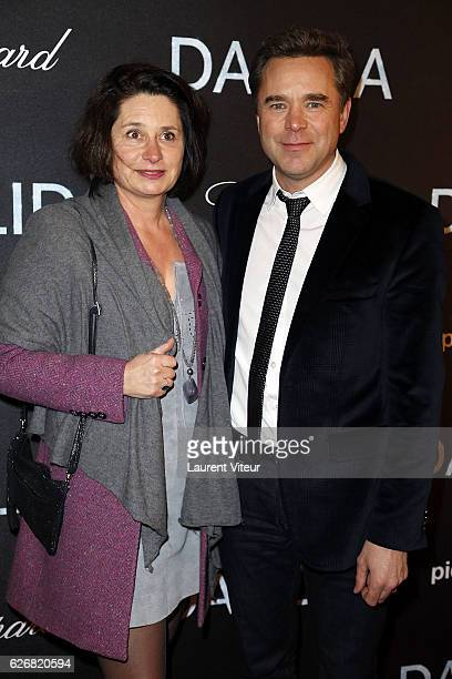 Actor Guillaume de Tonquedec and guest attend 'Dalida' Paris Premiere at L'Olympia on November 30 2016 in Paris France