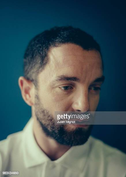 Actor Guillaume Gouix is photographed for Grazia Daily on May 2018 in Cannes France