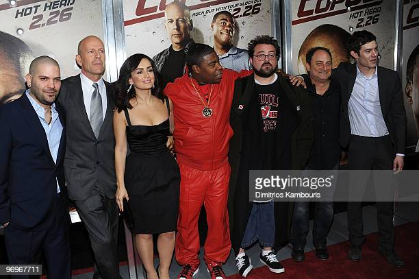 Actor Guillermo Diaz actor Bruce Willis actress Ana de la Reguera actor Tracy Morgan director Kevin Smith actor Kevin Pollak and actor Adam Brody...