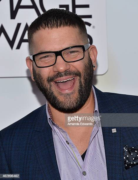 Actor Guillermo Diaz arrives at the 46th Annual NAACP Image Awards on February 6 2015 in Pasadena California