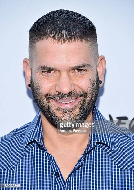 Actor Guillermo Diaz arrives at the Disney Media Networks International Upfronts at Walt Disney Studios on May 19 2013 in Burbank California
