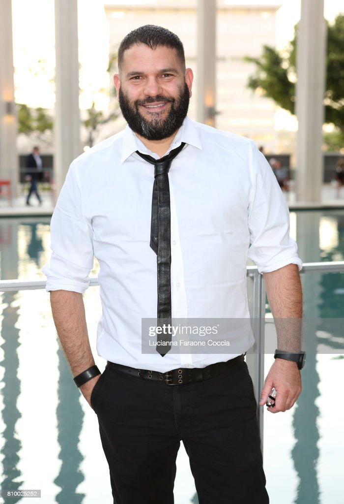 Actor Guillermo Diaz attends the Opening Night of 'Heisenberg' at Mark Taper Forum on July 6, 2017 in Los Angeles, California.