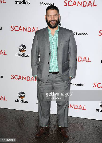 Actor Guillermo Diaz attends the Scandal ATAS event at Directors Guild Of America on May 1 2015 in Los Angeles California