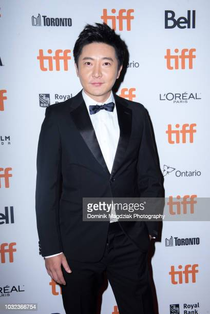 Actor Guo Jingfei attends the Baby red carpet premiere during the 2018 Toronto International Film Festival at Ryerson Theatre on September 12 2018 in...