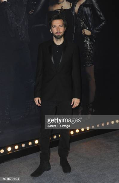 Actor Guy Burnet arrives for the Premiere Of Universal Pictures' 'Pitch Perfect 3' held at The Dolby Theater on December 12 2017 in Hollywood...