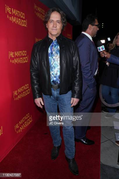 Actor Guy Ecker attends 'HE MATADO A MI MARIDO' Los Angeles Premiere at Harmony Gold Theatre on February 26 2019 in Los Angeles California