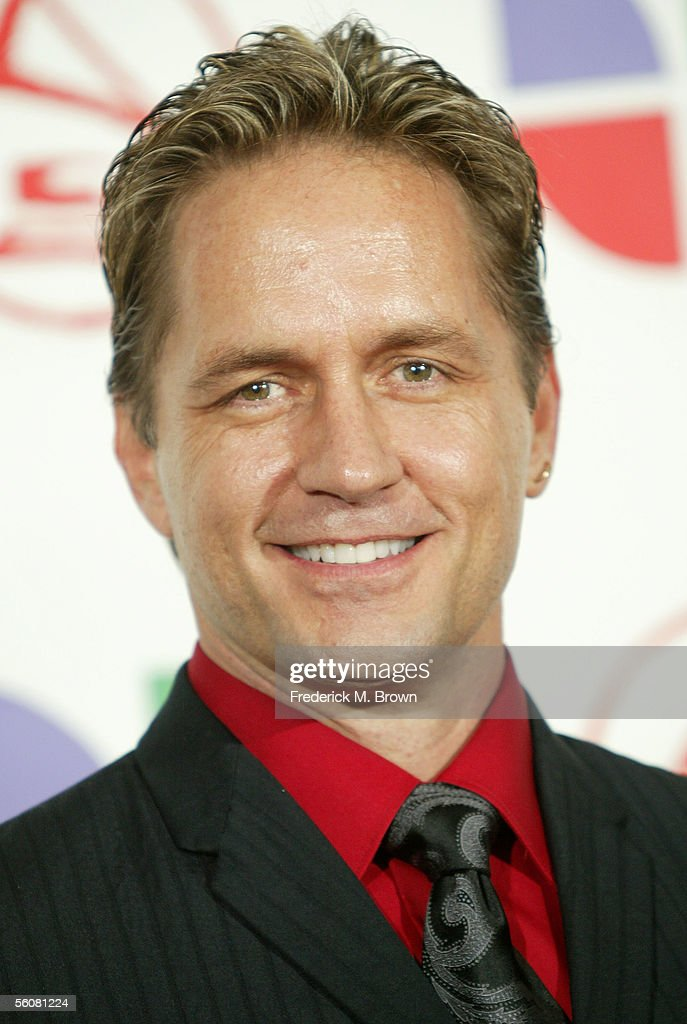 Actor Guy Ecker poses in the press room at the 6th Annual Latin Grammy Awards at the Shrine Auditorium on November 3, 2005 in Los Angeles, California.