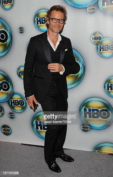 Actor Guy Pearce arrives at HBO's Post 2012 Golden Globe Awards Party at Circa 55 Restaurant on January 15 2012 in Beverly Hills California