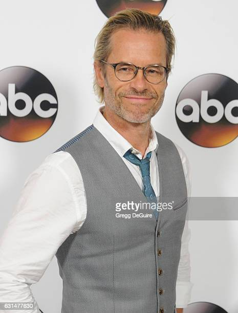 Actor Guy Pearce arrives at the 2017 Winter TCA Tour Disney/ABC at the Langham Hotel on January 10 2017 in Pasadena California