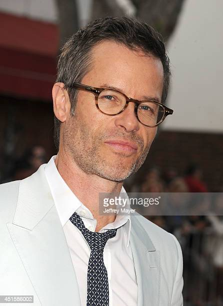 Actor Guy Pearce arrives at the Los Angeles premiere of 'The Rover' at Regency Bruin Theatre on June 12 2014 in Los Angeles California