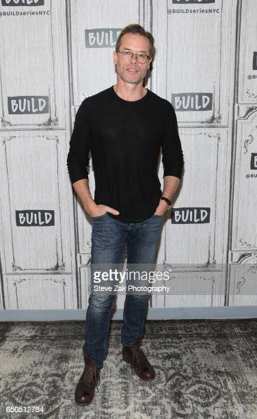 Actor Guy Pearce attends Build Series to discuss Brimstone at Build Studio on March 9 2017 in New York City