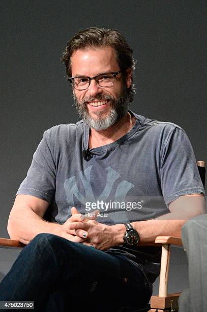 Actor Guy Pearce attends the Apple Store Soho Presents Meet The Filmmaker Resultsat Apple Store Soho on May 28 2015 in New York City