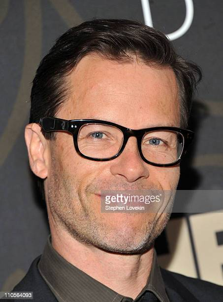 Actor Guy Pearce attends the Mildred Pierce premiere at the Ziegfeld Theatre on March 21 2011 in New York City