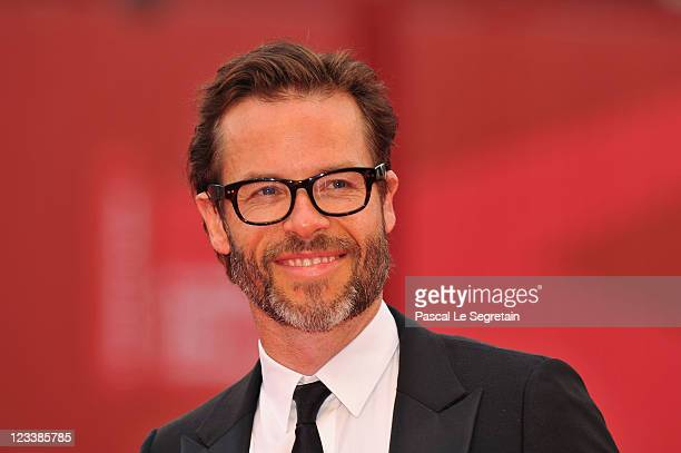 Actor Guy Pearce attends the Mildred Pierce premiere during the 68th Venice Film Festival at Palazzo del Cinema on September 2 2011 in Venice Italy