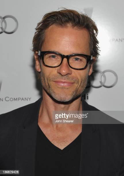 Actor Guy Pearce attends the party hosted by the Weinstein Company and Audi to Celebrate Awards Season at Chateau Marmont on January 11 2012 in Los...