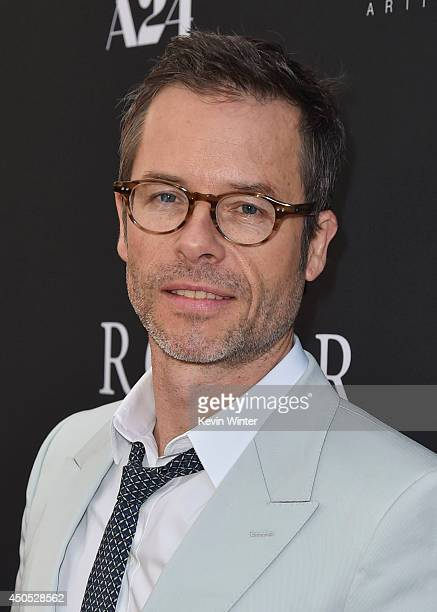 Actor Guy Pearce attends the Premiere Of A24's The Rover Red Carpet at Regency Bruin Theatre on June 12 2014 in Los Angeles California