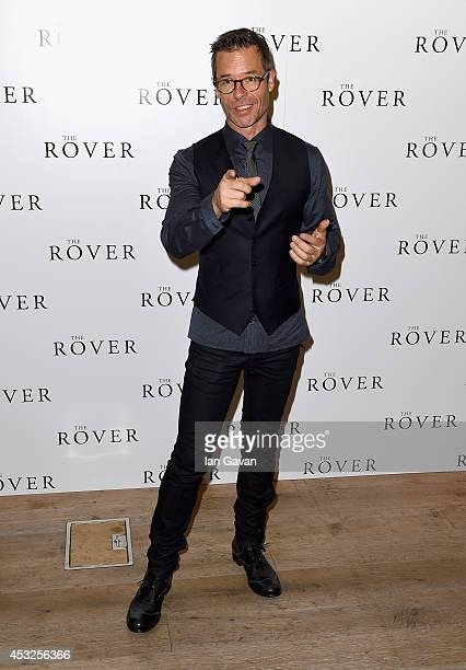 Actor Guy Pearce attends The Rover photocall and screening with Q A at the BFI Southbank on August 6 2014 in London England