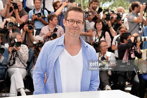 Actor Guy Pearce attends The Rover photocall during the 67th Annual Cannes Film Festival on May 18 2014 in Cannes France