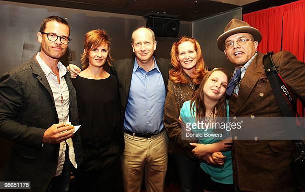 Actor Guy Pearce Kate Mestitz Aldred P Sloan Foundation program director Doron Webber Nancy Pantoliano Isabella Pantoliano and actor Joe Pantoliano...