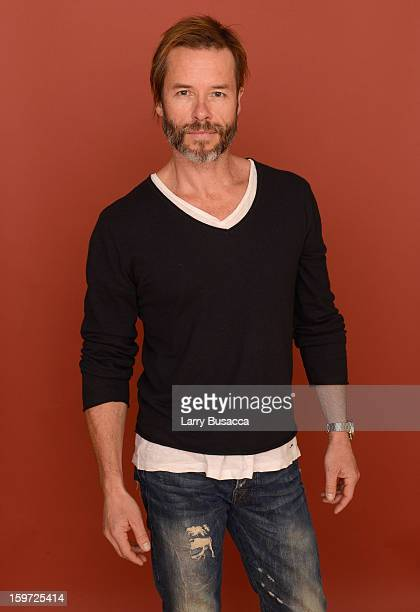 Actor Guy Pearce poses for a portrait during the 2013 Sundance Film Festival at the Getty Images Portrait Studio at Village at the Lift on January 19...
