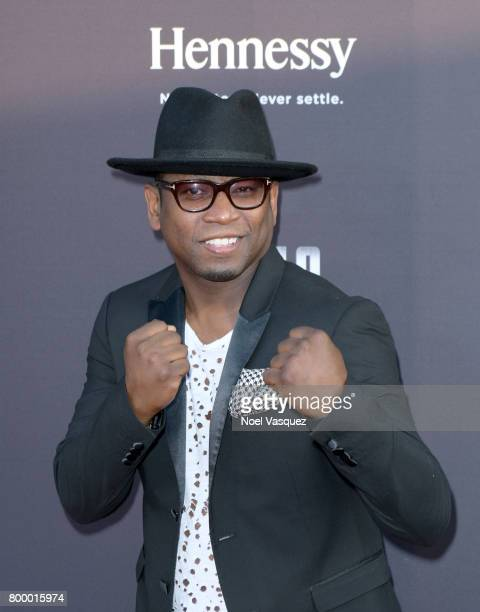 """Actor Guy Torry attends the Canelo Alvarez and Gennady """"GGG"""" Golovkin press tour presented by Hennessy at AVALON Hollywood on June 22 2017 in Los..."""