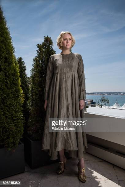 Actor Gwendoline Christie is photographed for the Hollywood Reporter on May 24 2017 in Cannes France