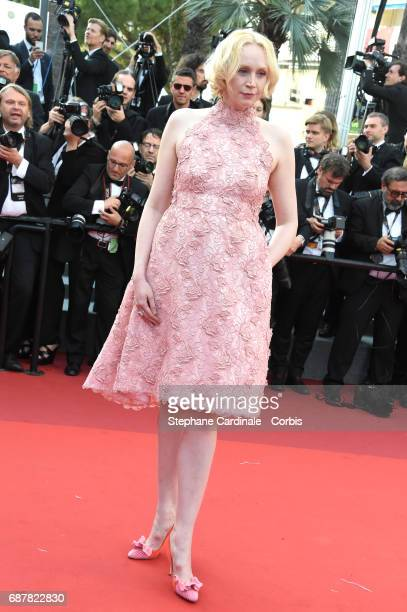 Actor Gwendoline Christie of 'Top of the Lake China Girl' attends 'The Beguiled' premiere during the 70th annual Cannes Film Festival at Palais des...