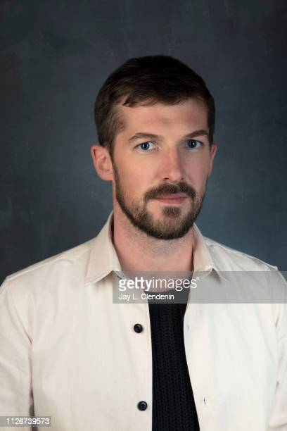 Actor Gwilym Lee from 'Top End Wedding' is photographed for Los Angeles Times on January 28 2019 at the 2019 Sundance Film Festival in Salt Lake City...