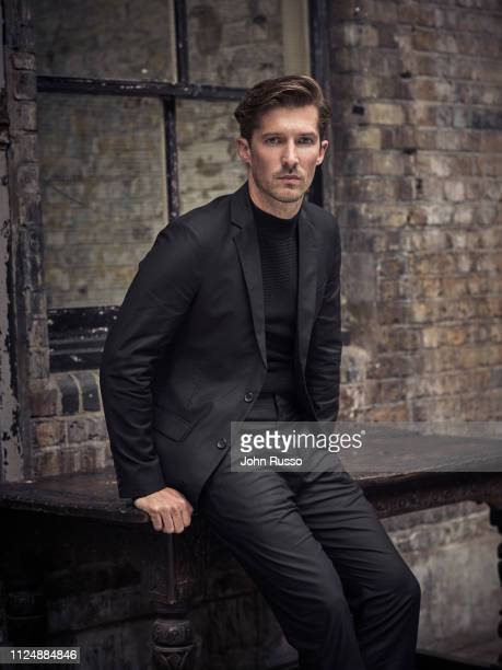 Actor Gwilym Lee is photographed for 20th Century Fox on June 14 2018 in London England